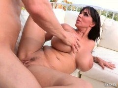 Erik Everhard gets turned on by Holly Halston and then bangs her ass