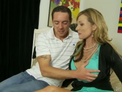 Mature/MILF and sexy Nicole Wright is the best stepmother ever.