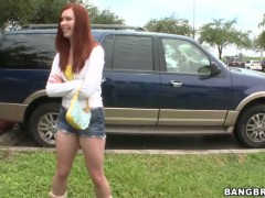 Redhead-does-some-anal