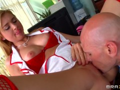 Sexy nymphet Molly Bennett for kinky Johnny Sins