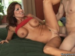 Tara Holiday gets a fuck with hot dude Cris Commando