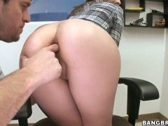 Young chicks Alexa James gets naked at the audition and lets me to finger her holes